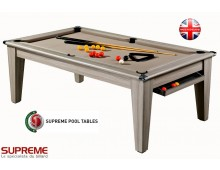 Une table de billard convertible design de la collection Supreme