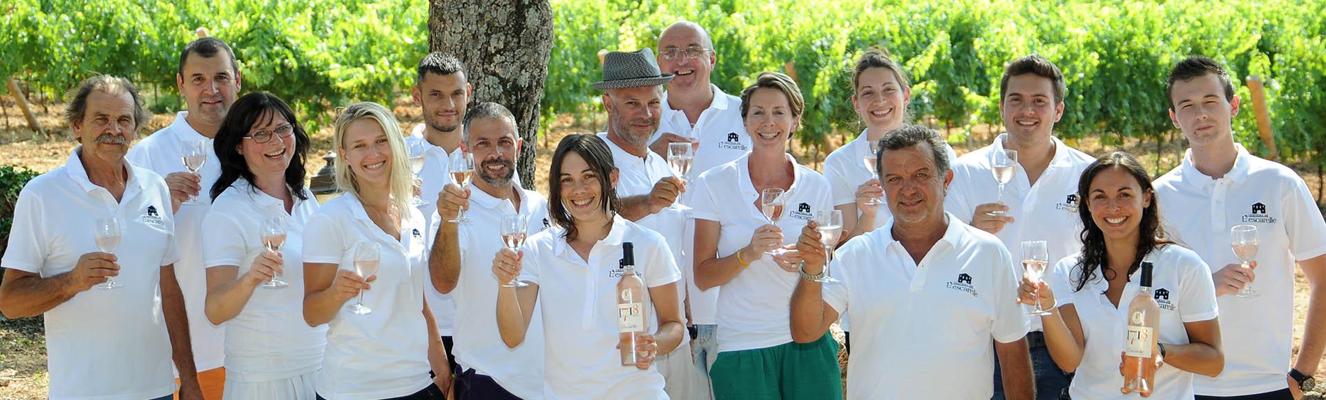 domaine viticole dans le var