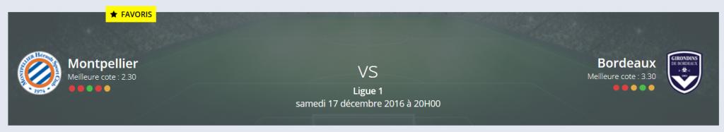 Rue des Joueurs a fait son Pronostic Montpellier Bordeaux Ligue 1 : les Girondins seront vaincus !
