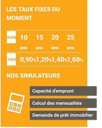 Le site de Prélys propose aussi une calculatrice de crédit